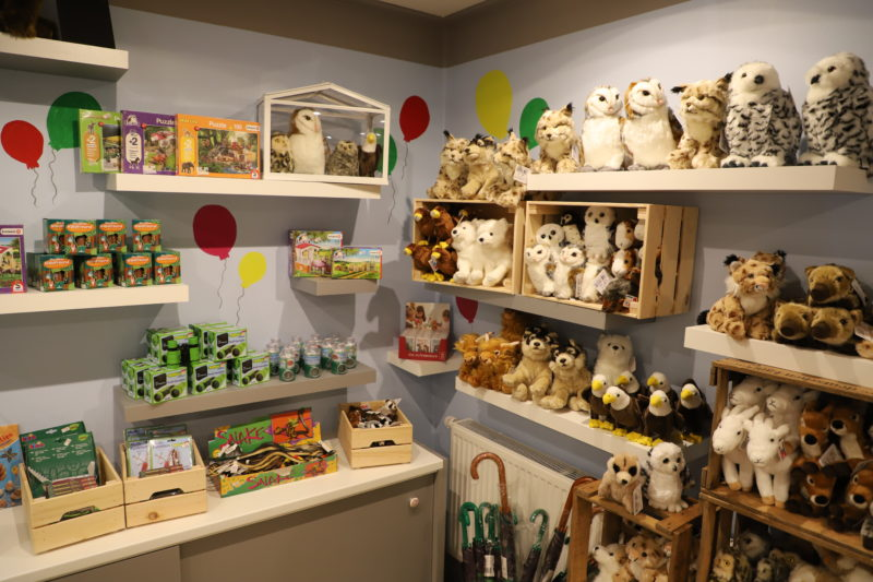 Exhibits in our new Park-Shop